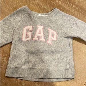 toddler girl gap logo sweatshirt size 2T